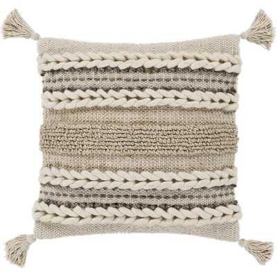 Wylie Texture Throw Pillow - Wayfair