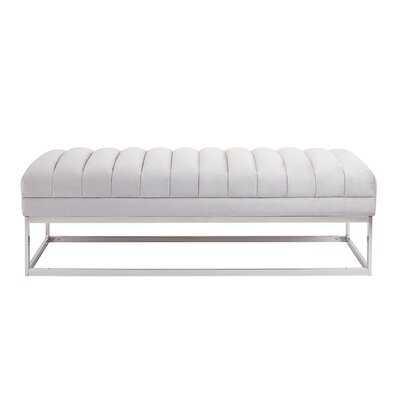 Brooking Upholstered Bench - Wayfair