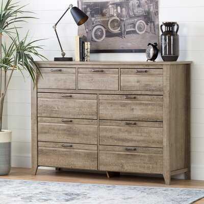 Lionel 9 Drawer Double Dresser - Birch Lane