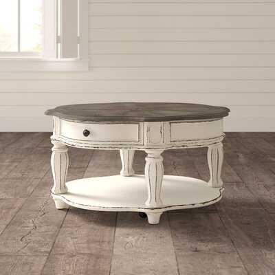 Kody 4 Legs Coffee Table with Storage - Birch Lane