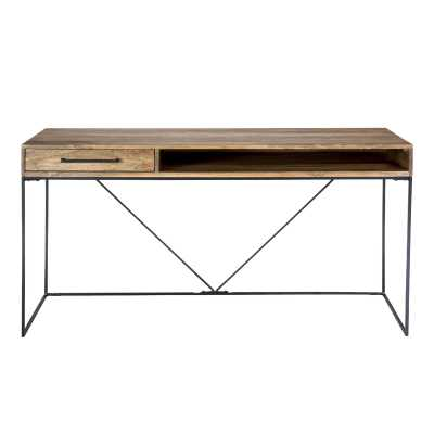Colvin Solid Wood Desk - Perigold