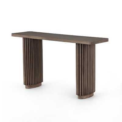 Channel Base Console Table - West Elm
