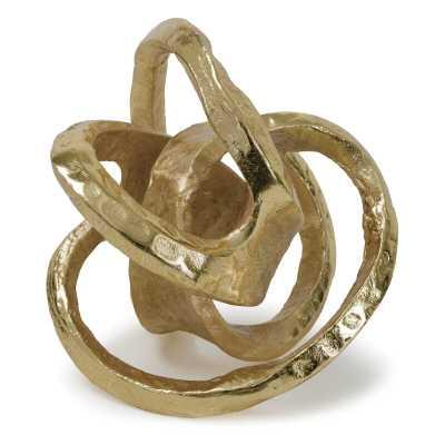 Regina Andrew Decorative Metal Knot Color: Gold - Perigold