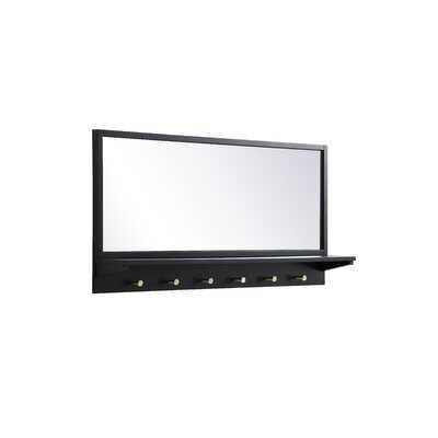 Towson Modern Accent Mirror with Shelves - Wayfair