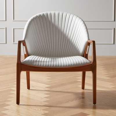 Luisa White Chair - CB2