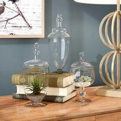 Mrozak 3 Piece Jar Set - Wayfair