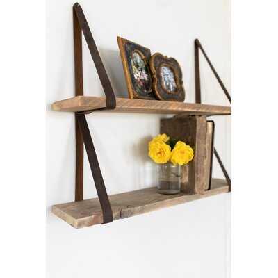 Remerton 2 Piece Rectangle Bracket Shelf - Birch Lane