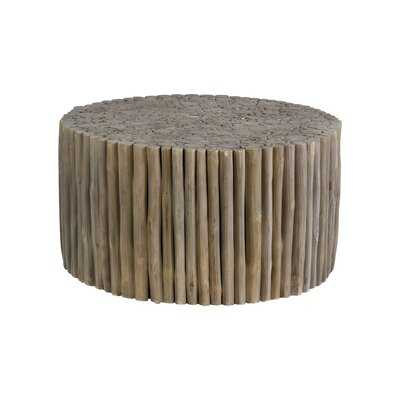 Mcghee Solid Wood Drum Coffee Table - Wayfair