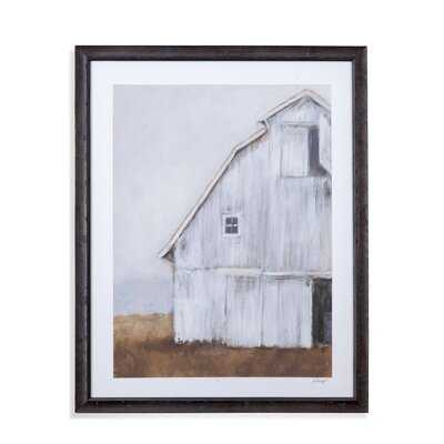 'Abandoned Barn II' Framed Acrylic Painting Print on Canvas - Birch Lane