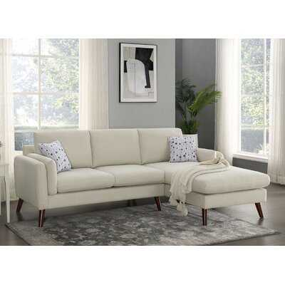 "Keenum 93"" Wide Right Hand Facing Sofa & Chaise - Wayfair"