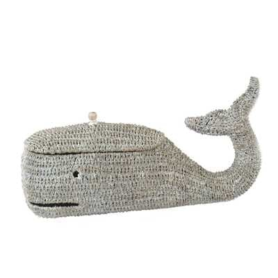 Bankuan Rope Whale Box with Lid - Nomad Home