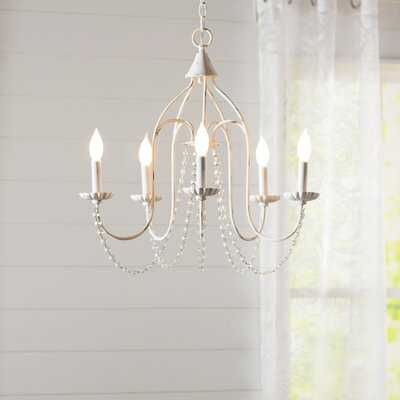 5 - Light Candle Style Classic / Traditional Chandelier - Birch Lane