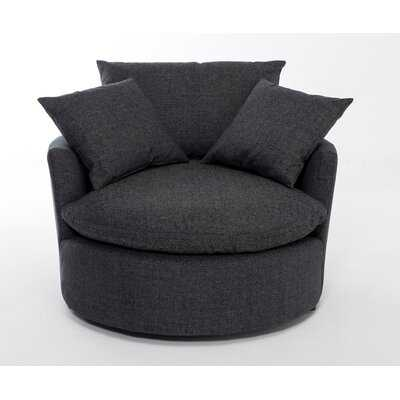 Lilath Swivel Barrel Chair - AllModern