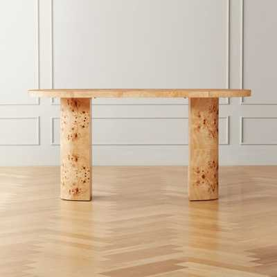 Marisa Burl Wood Desk - CB2