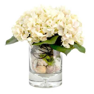 Creative Displays, Inc. Hydrangea Floral Arrangement - Perigold