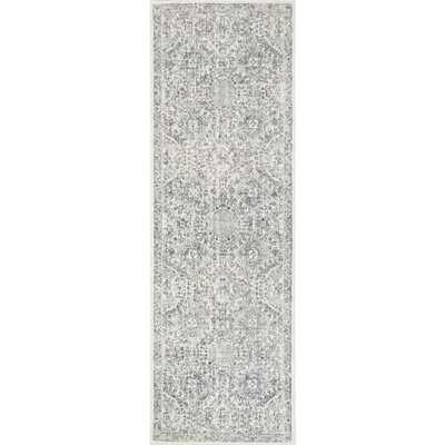 nuLOOM Minta Modern Persian Gray 3 ft. x 12 ft. Runner - Home Depot