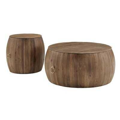 Steil 2 Piece Coffee Table Set - Wayfair