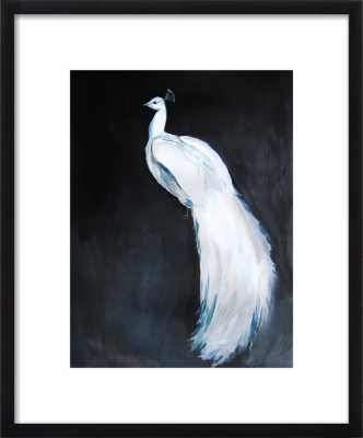 White Peacock II by Christine Lindstrom for Artfully Walls - Artfully Walls