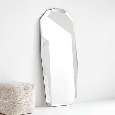 Orezi Geometric Floor Mirror - Crate and Barrel