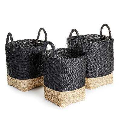 Market Wicker/Rattan Basket - Wayfair