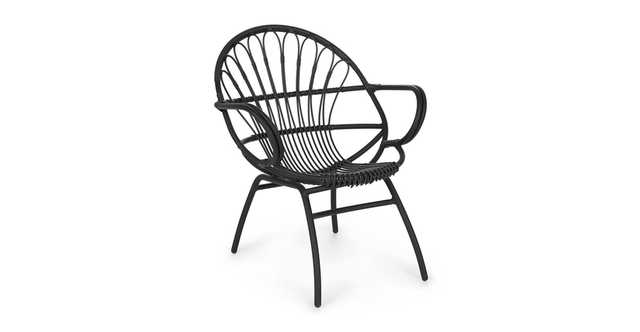 Loa Graphite Lounge Chair Set of 2 - Article