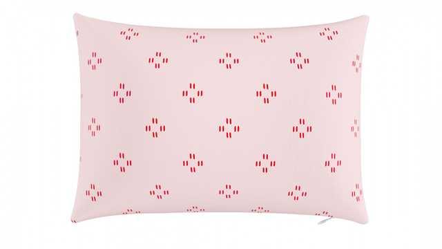 "Throw Pillow 14""x20"" | Pink Faro  - The Inside"