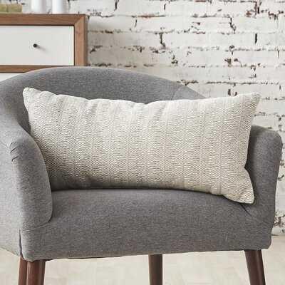 Liveva Cotton Geometric Lumbar Pillow - Wayfair