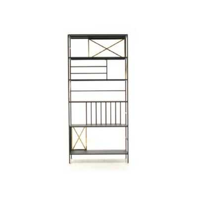 Dengler New Prairie Vertical Etagere Bookcase - Wayfair