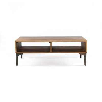 Four Hands Fallon Coffee Table with Storage - Perigold