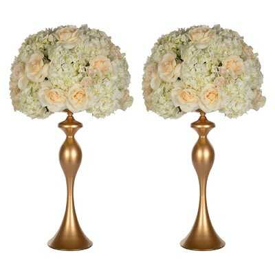 2 Piece Jackson Heights Stainless Steel Table Vase Set - Wayfair