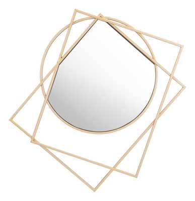 Vertex Mirror Gold - Zuri Studios