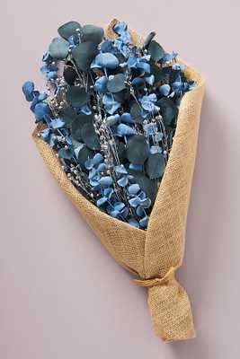 Blue Eucalyptus Bouquet By Anthropologie in Green - Anthropologie