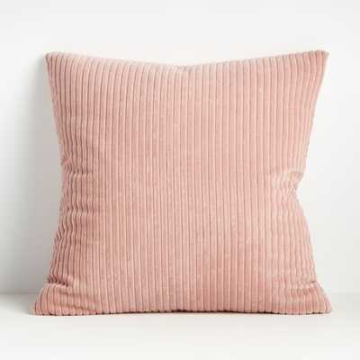Rae 23 Pink Pillow Cover - Crate and Barrel