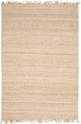 Jute - JUTE BLEACH - 4' x 6' - Neva Home
