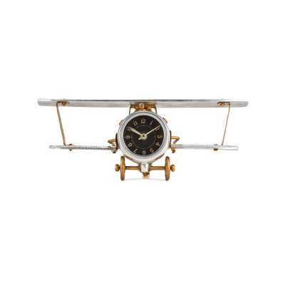 Pendulux Biplane Table Clock - Perigold