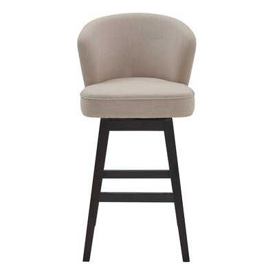 Khan Bar Swivel Stool - Wayfair