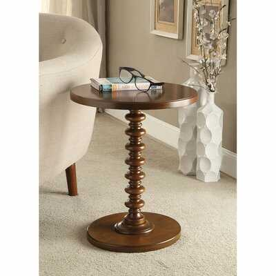 Kitt Pedestal End Table - Wayfair