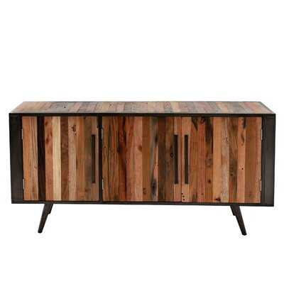 """Curtiss Solid Wood TV Stand for TVs up to 75"""" - Wayfair"""