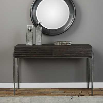 Morrigan Industrial Console Table - Hudsonhill Foundry