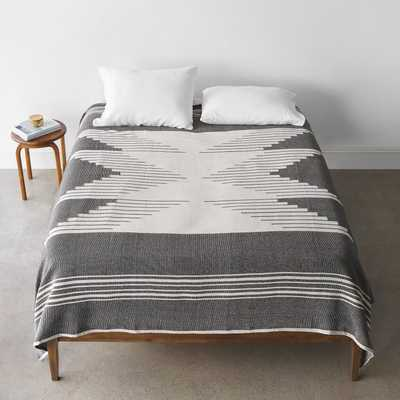 Bico Bed Blanket - Black - King By The Citizenry - The Citizenry