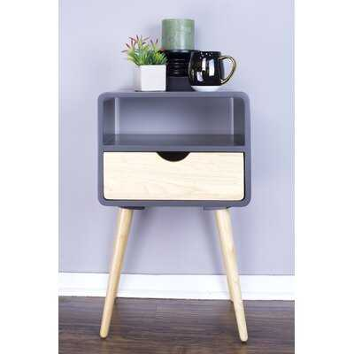 Hendry Euro End Table - Wayfair