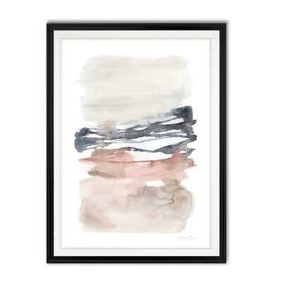 'Tiered Horizon Line II' - Painting Print on Canvas - Wayfair
