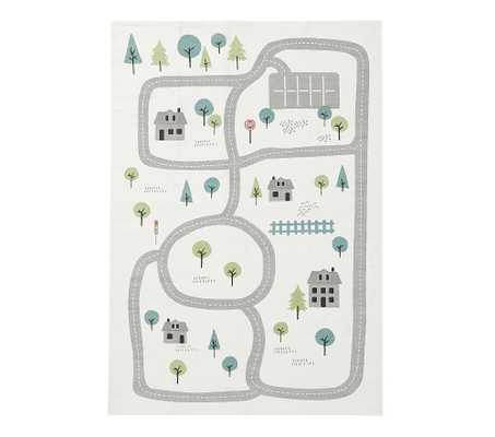 Machine Washable Interactive Play Mat,4x6 Feet, Multi - Pottery Barn Kids