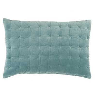 "Design (US) Blue 16""X24"" Pillow - Collective Weavers"