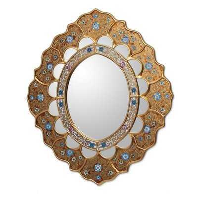 Umaiza Sweet Flower Modern & Contemporary Accent Mirror - Wayfair