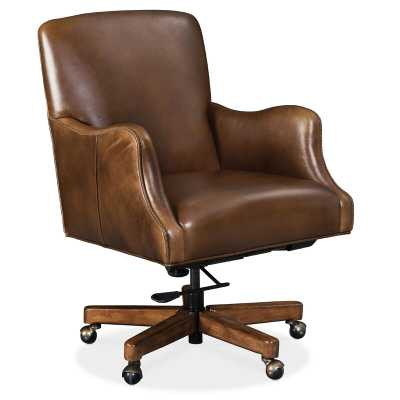 Binx Ergonomic Executive Chair Upholstery Color: Brown - Perigold