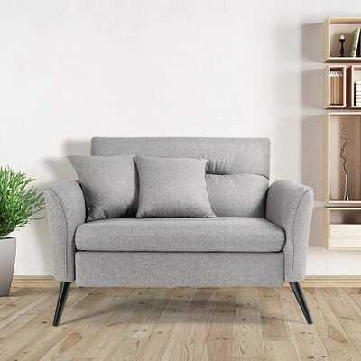 Grey Loveseat Sofa - Wayfair