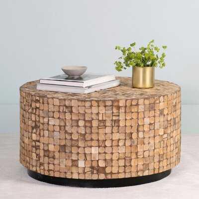 Sherlyn Drum Coffee Table - Wayfair