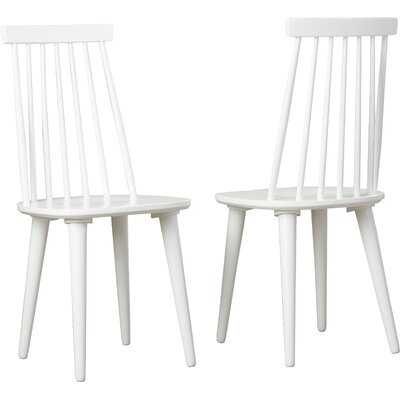 Spindle Solid Wood Dining Chair - Wayfair