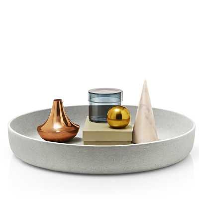 "Decorative Bowl Size: 3.35"" H x 19.7"" W x 19.7"" D - Perigold"
